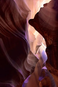 Photo of an Upper Antelope Slot Canyon by visionbypixels.com