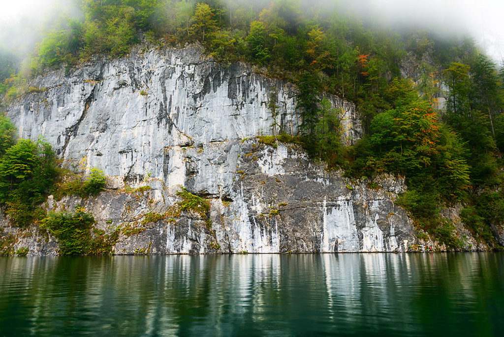Photo of an alp face from the Konigssee, Bavaria, Germany, by visionbypixels.com