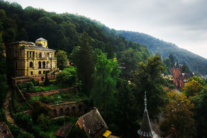 Photo of Heidelberg Castle from Neckar Valley, Heidelberg, Germany, by visionbypixels.com