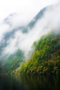 Photo of alps in the clouds, Konigssee, Bavaria, Germany, by visionbypixels.com