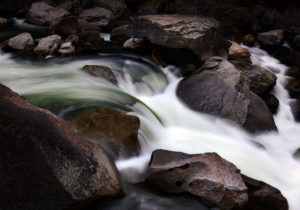 Photo of Yosemite stream waterfall by visionbypixels.com