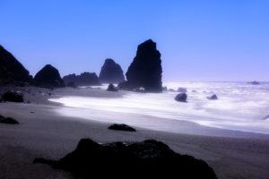 Photo of shoreline at Bodega Bay, California by visionbypixels.com