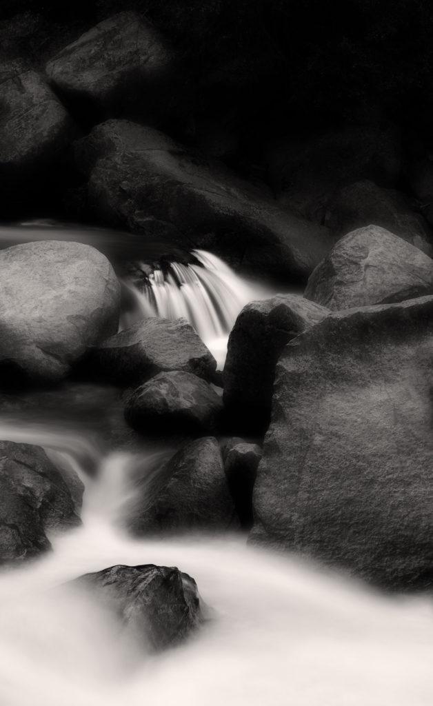 Merced River Black & White I
