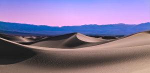 Sunset at Mesquite Dunes