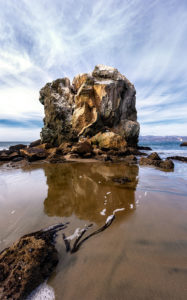 Afternoon at Mile Rock Beach (Color)