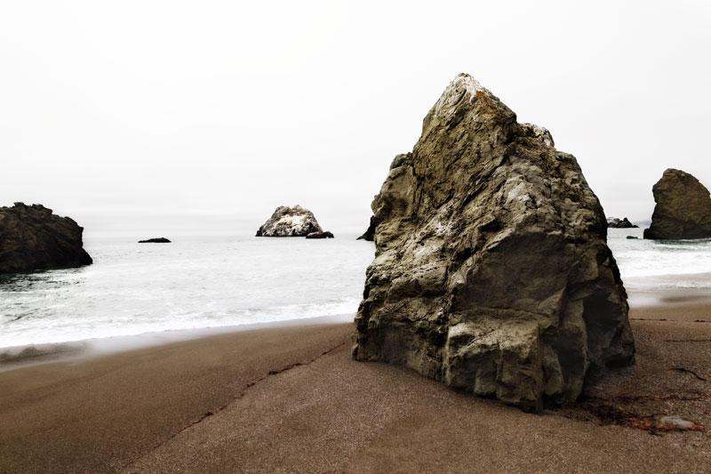 Bodega Bay Rock I